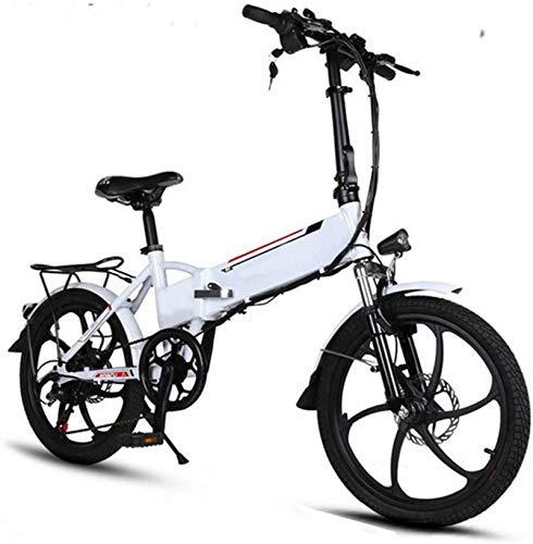 Bicicletas Eléctricas, Marco de aluminio de 20 pulgadas bicicleta eléctrica plegable de...
