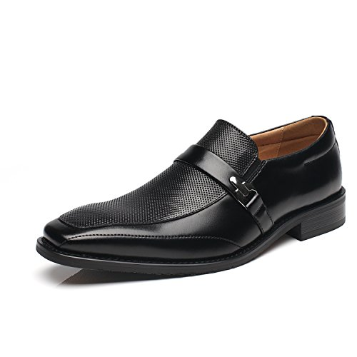 NXT NEW YORK Mens Slip On Buckle Loafer Moc Toe Oxford...
