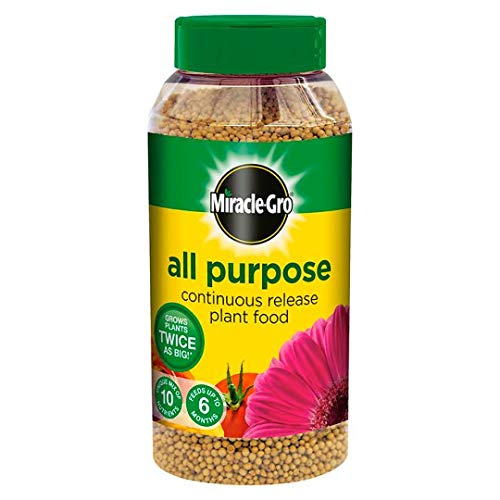 Miracle - gro All Purpose Continuous Slow Release Plant Food, 1kg Shaker Bottle