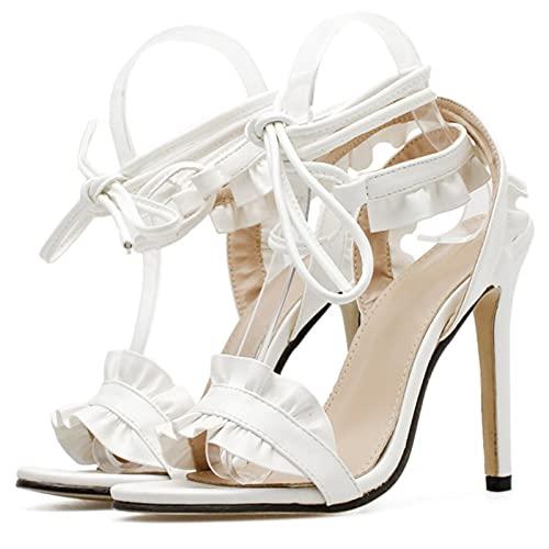 JUSTMAE Sandalias de Mujer 2021 Verano Sexy Tacones Altos Dama Confort Zapatos...