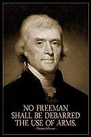 フリーマンは武器の使用を禁止されてはならないトーマス?ジェファーソン 500枚の木のパズル脳が美しいアクセサリーに挑戦します。