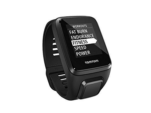 TomTom Spark 3 Cardio + Music - Reloj Deportivo, Color Negro, Talla S
