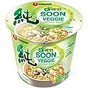 6-Pack Nongshim Soon Cup Veggie Noodle Soup, 2.6 Ounce