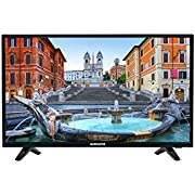 MAGNADYNE M40FHD 101cm (40 Zoll) Full HD (1920x1080 Auflösung) LED Flat Fernseher - TV, 16:9 Format, DVB-T2 Tuner (Triple Tuner,60Hz, USB, Audio/Video Player, 2 HDMI Anschlüsse), schwarz