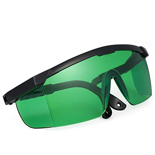KKmoon Occhiali La-Ser Viola Blu Occhiali Protettivi La-Ser Occhiali Antinfortunistici per La-Ser Occhiali di Protezione per Gli Occhi per Uso Industriale