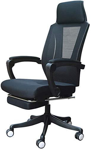 Sillón Giratorio Seat High Back Executive Office Silla Altura Ajustable Escritorio Sillón Sillón con reposapiés