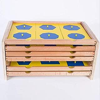 geometric cabinet montessori