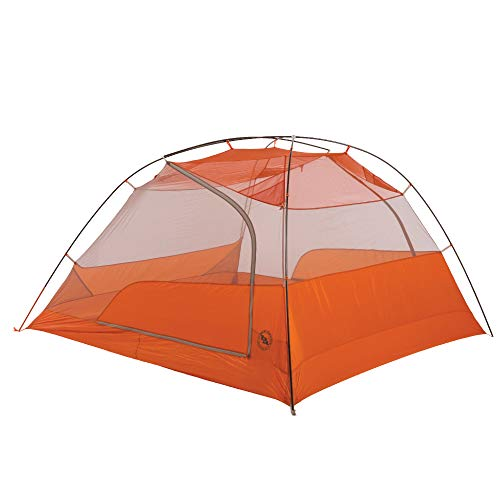 Big Agnes 2019 Copper Spur HV UL4 Backpacking Tent, Grey/Orange, 4 Person