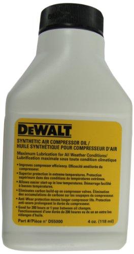 DEWALT D55000 Compressor Oil -Synthetic 4 oz by DEWALT