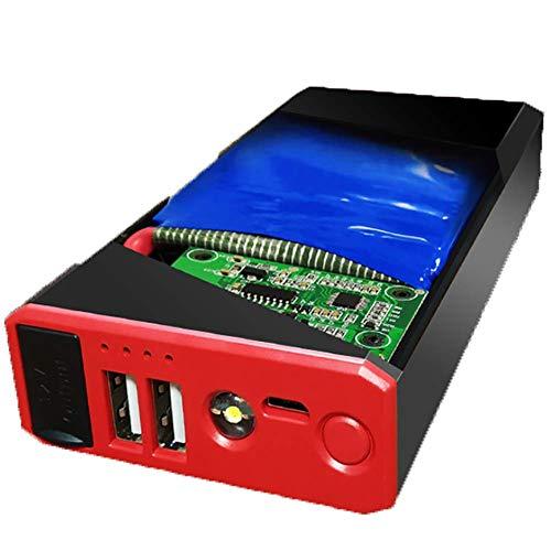 Preisvergleich Produktbild LALEO Auto Starthilfe (Bis zu 5 L Benzin,  4 L Diesel),  400A 7500mAh Multifunktional Tragbare Jump Starter Starthilfegeräte Powerbank mit USB LED Taschenlampe