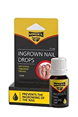URIEL Ingrown Toe Nail Drop for softening embedded toenails and calloused tissue Prevents the in growing of toenail and enables the straightening of the nails Most advanced treatment for ingrown toenail Most effective treatment available without a pr...