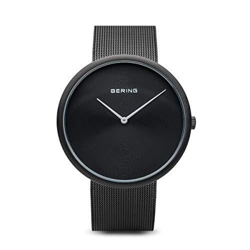 BERING Herren Analog Quarz Uhr mit Edelstahl Armband 14339-222
