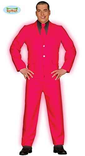 Pinker Anzug für Herren Kostüm Herrenkostüm Krawatte Sakko Jacket Hose Suit 3-teilig Gr. M-L, Größe:M