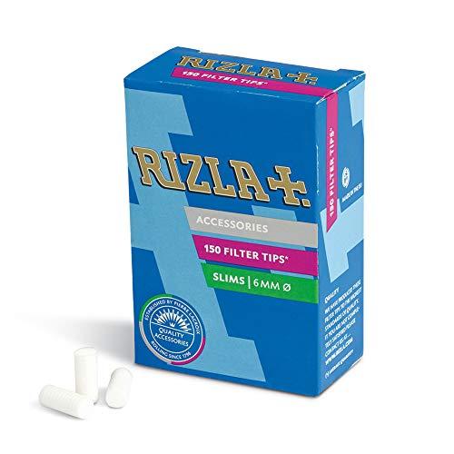 Rizla Filtri per Sigarette 6 Mm x 14 Mm , 10 Confezioni da 150 filtri