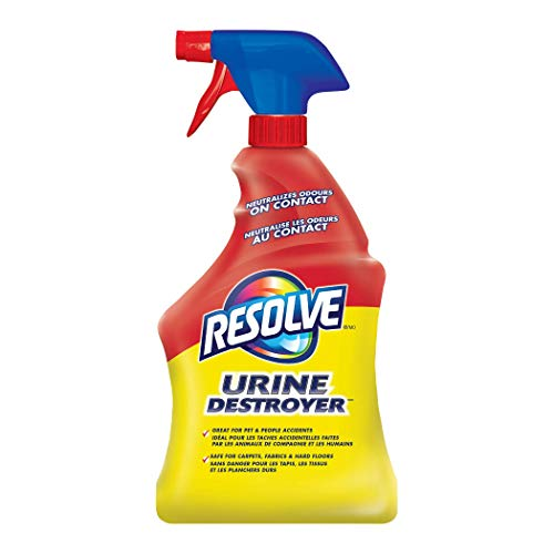 Resolve, Urine Destroyer, 946ml, Clean & Neutralizes Odours on Carpet, Fabric & Hardwood