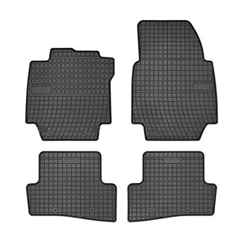 DBS Tapis de Voiture - sur Mesure pour CAPTUR (2013-2020) - 4 pièces - Tapis de Sol antidérapant pour Automobile - Souple - 100% Caoutchouc