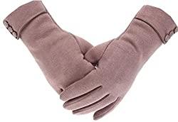 Tomily Womens Touch Screen Phone Gloves