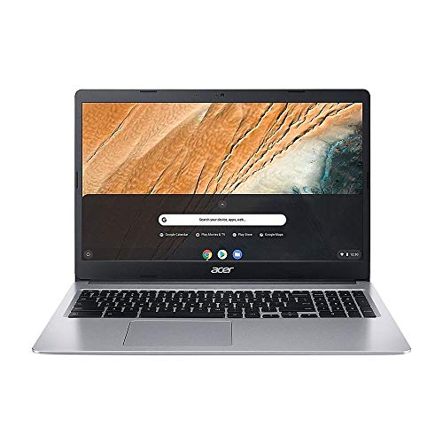 Acer Chromebook CB315-3HT-C6XF 15.6' Touch 4GB 64GB Intel Celeron N4020 X21.1GHz,Pure Silver
