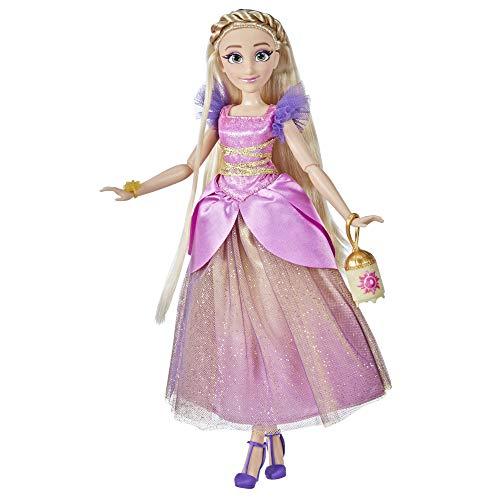 Disney Princess Style Series 10 Rapunzel, muñeca de Moda de Estilo contemporáneo, Ropa y Accesorios, Juguete para niñas de 6 años en adelante (Hasbro F1247)