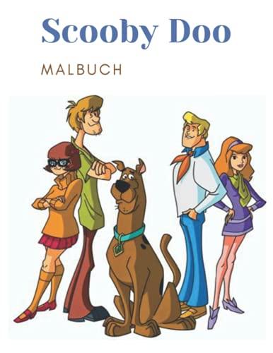 Scooby-Doo-Malbuch: Lustiges Malbuch für Kinder und alle Fans dieses wunderbaren Cartoons - 30+ hohe Qualität