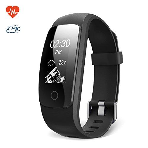Lemebo Braccialetto Fitness Activity Tracker, Cardiofrequenzimetro...