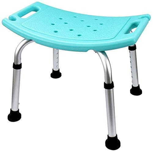 ZXY-NAN Bathroom Wheelchairs Shower Chair, Height Adjustable Aluminum Bathroom Shower Stool Foldable Bathtub Seat Suitable for The Elderly, Pregnant Women, Children, Disabled People