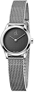 Calvin Klein Dress Watch for Women, Analog, Stainless Steel Band - K3M2312X