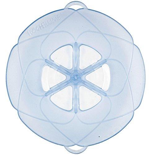 Kochblume Überkochschutz eisblau groß - Ø 33,0 cm