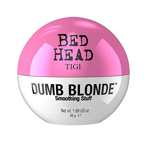 TIGI Bed Head Dumb Blonde Smoothing Stuff Crema Lucidante, Anti-Crespo