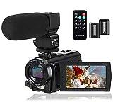Video Camera Camcorder Digital YouTube Vlogging Camera Recorder FHD 1080P 24.0MP...