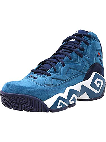 Fila Men's MB Shoe (12 D(M) US, ikbl/fnvy/wht)