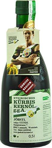 100% natürliches, echtes Steirisches Kürbiskernöl g.g.A. 0,5 Liter