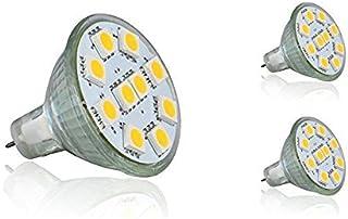 3 Pack Bright MR11 AC DC 12V Spot Light Replacement GU4 2 Pin LED Ceiling Mini Recessed Spot Lighting 3Watt Beam Lamp RV Y...