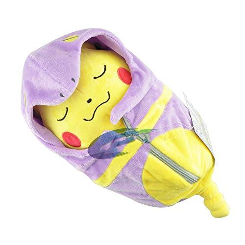 FENGHU Pokemon Plüsch Puppe Pokemon Pokemon Pokemon Plüsch Puppe Spielzeug Schlafsack Pikachu