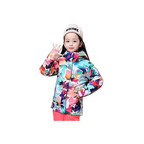 CXY Bambini Abbigliamento da Sci,Abbigliamento Invernale Abbigliamento Sportivo all'aperto Mantieni Caldo Giacca Termica Traspirante Impermeabile Antivento Ispessimento Snowsuits Snow Sports Sci,L