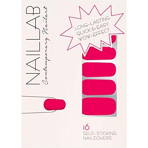 NAILLAB Nagelfolie - Selbstklebende Nagelfolien als einfache & zeitsparende Alternative für Nagellack - Langanhaltende nail wraps in vielen verschiedenen Farben - Nagelaufkleber | nail sticker | folie
