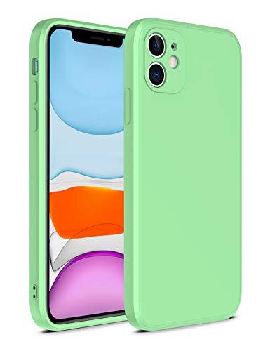 "SevenPanda für iPhone 6 Plus Hülle, iPhone 6S Plus Silikon Hülle, Gel Rubber Ganzkörper, iPhone 6 Plus Nette iPhone 6S Plus Hülle, Mikrofasertuch 5.5"" iPhone 6S Plus Hülle Magic Cube - Avocado Grün"