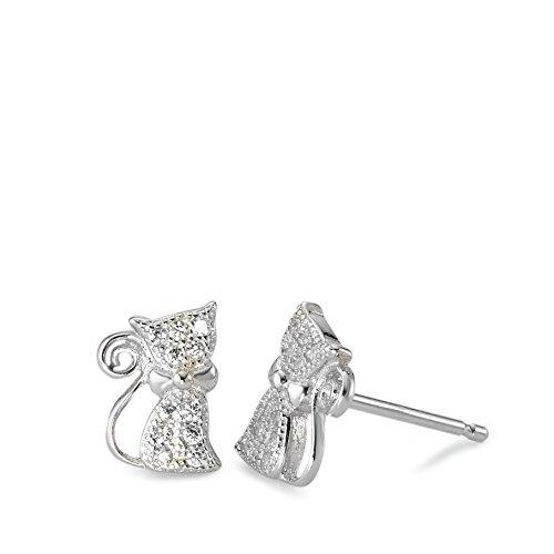Ohrringe Silber 925 Katze