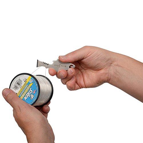 NITEIZE(ナイトアイズ)ドゥーヒッキーフィッシュキーツール多機能ツールS字型カラビナ付きKMTFKS-11-R6(日本正規品)