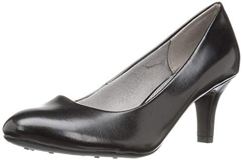 LifeStride womens Parigi pumps shoes, Black Smooth, 7.5 US