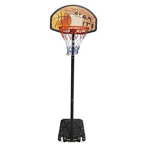 Hoop de Baloncesto para niños Al Aire Libre desprendible y Marco de Baloncesto Ajustable del Marco de Baloncesto Canasta de Baloncesto for niños Soporte de Baloncesto para niños portátiles