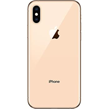 Apple iPhone XS, 256GB, Gold - Fully Unlocked (Renewed)