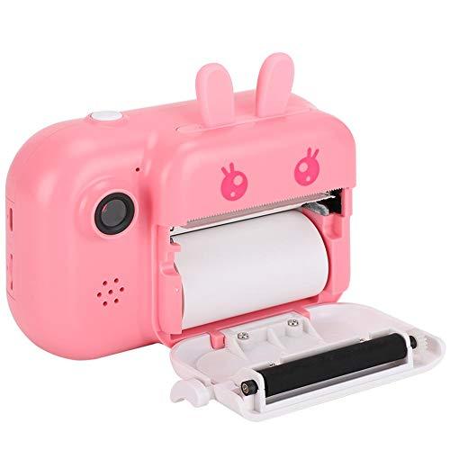Impresión instantánea de la cámara de impresión para niños para niñas y niños(Pink)