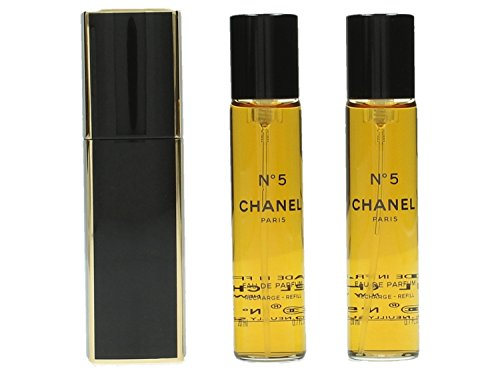 Chanel No. 5 femme/woman Set (Eau de Parfum,3x20ml)