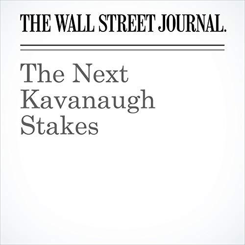 The Next Kavanaugh Stakes copertina