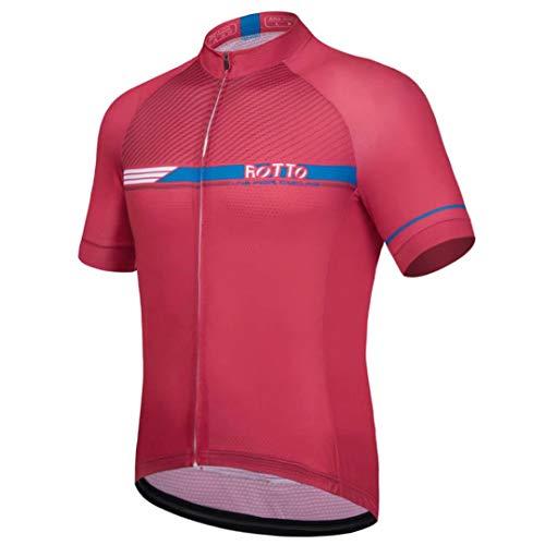 ROTTO Maillot Ciclismo Hombre Camiseta Ciclismo Manga Corta Maillot MTB Serie de...