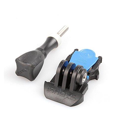 iSHOXS Fast Lock Slider - kompakte Schnellspann-Schnalle mit Sicherungssystem für Sport- und Action-Cams