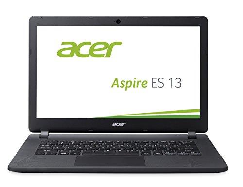 Acer Aspire ES 13 (ES1-331-P4C1) 33,78cm (13,3 Zoll) Laptop (HD, Intel Quad Core N3700 4GB RAM, 500GB HDD, Intel HD Graphics, Win 10 Home) schwarz