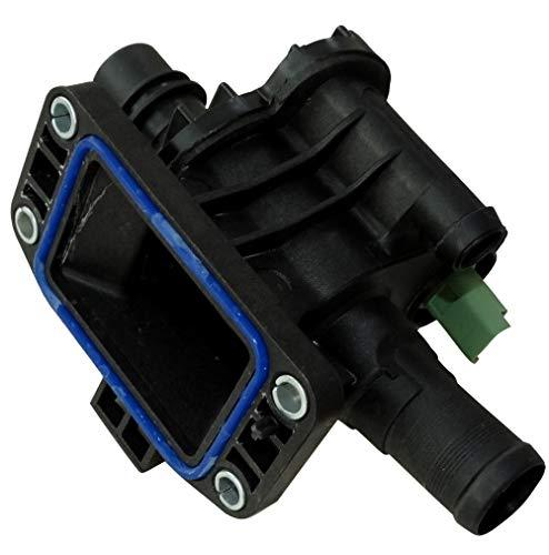 AERZETIX: Caja de salida motor termostato 82°C líquido de refrigerante compatible con OEM 1336.X2 C43011
