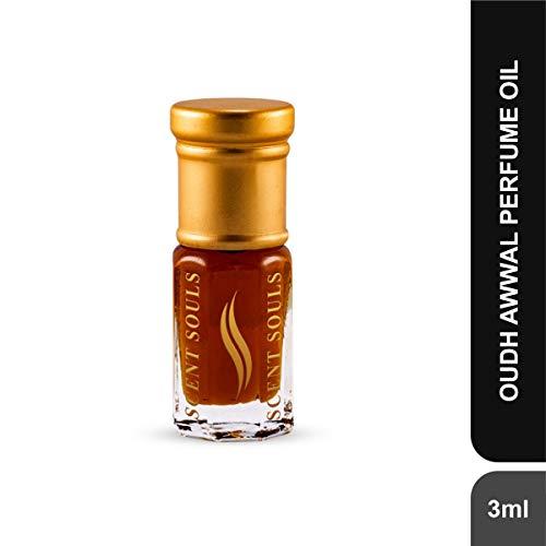 Scent Souls Oudh Awwal Long Lasting Attar Fragrance Perfume Oil For Men & Women- 3 ml